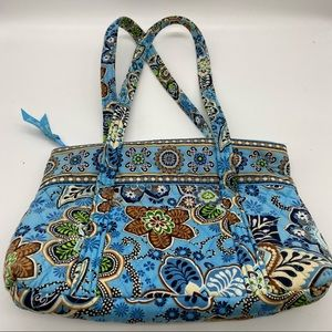 Vera Bradley Bali Blue Oversized Shoulder Bag